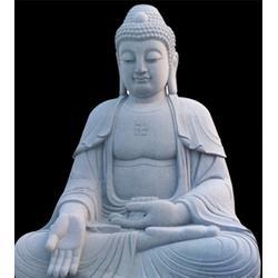 汉白玉石雕释迦牟尼像|爱强石雕(在线咨询)|石雕释迦牟尼像图片