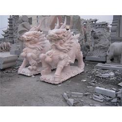 石雕麒麟造型该怎么选、爱强石雕、西藏石雕麒麟