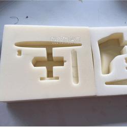 定制环保的礼盒白色海绵内衬 海绵盒白色海绵包装内衬图片