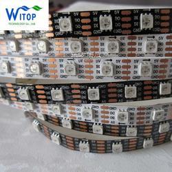 新品WS2813B断点续传内置IC全彩灯条5050 软灯条 舞台灯 像素灯图片