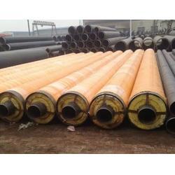 钢套钢保温钢管结构_钢套钢保温钢管_元圣管道图片
