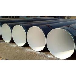 环氧树脂粉末防腐钢管 螺旋环氧树脂粉末防腐钢管 元圣管道图片