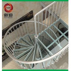 御迪五金制品、玻璃楼梯定做、北京玻璃楼梯图片