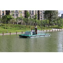 扬中保洁船,无锡司提达机械设备,湖面保洁船图片