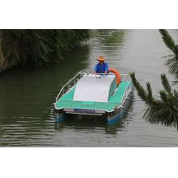 江西运河保洁船|无锡司提达机械设备|运河保洁船订购图片