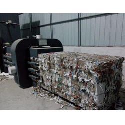 全自动废纸箱打包机,河南博世,什邡废纸箱打包机图片