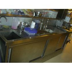 咸宁操作台、恒誉厨房白铁通风工程、操作台 定制图片