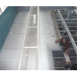 自来水厂斜管填料|蓝达水处理|斜管填料图片