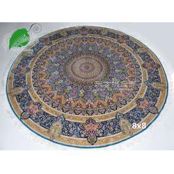 亿丝东方丝毯、手工真丝波斯地毯、地毯生产加工制作清洗、居家地毯别墅地毯图片