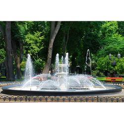 水景假山大品牌|廊坊水景假山|段氏园林喷泉棒棒的图片