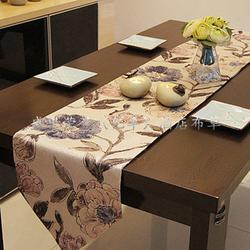 桌旗床旗,盛世荣兰(亿丰),桌旗床旗订做图片