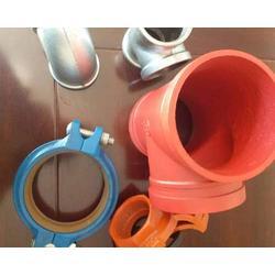 沟槽管件多钱一段-云南沟槽管件-富华玛钢(查看)图片