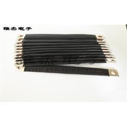 铜编织带软连接线压接工艺厂家、镀镍铜软连接图片