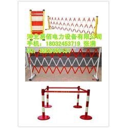 供应国标红白相间片式绝缘围栏规格 非标黑黄管式绝缘围栏图片