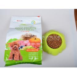 艾尔牛肉果蔬成犬幼犬粮大全500g一袋20小袋补充膳食纤维图片