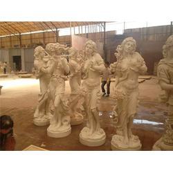 玻璃钢人像雕塑双人舞-人像雕塑-广州市穗芳工艺厂(在线咨询)图片