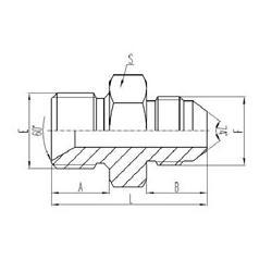 云南液压管接头,山东鲁盾软管质高价低,液压管接头型号图片