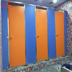 学校洗手间隔断板二代抗倍特公共厕所隔断防水防潮安装图片