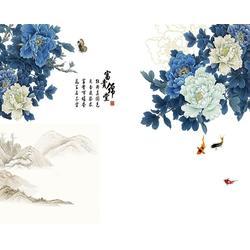 北京KTV挂画,青花瓷典科技图片
