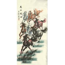 陕西壁画|青花瓷典科技(图)图片