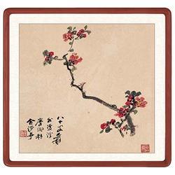 瓷板画背景墙报价、瓷板画背景墙、青花瓷典科技图片