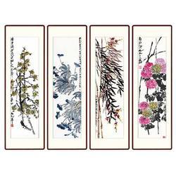 瓷板画背景墙_青花瓷典科技_湖北瓷板画图片