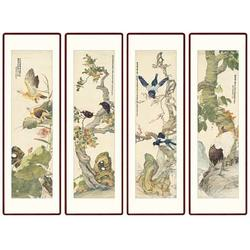 上海四条屏瓷板画 青花瓷典科技 四条屏瓷板画加盟图片