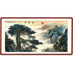 梅兰竹菊瓷板画|青花瓷典科技|梅兰竹菊瓷板画图片