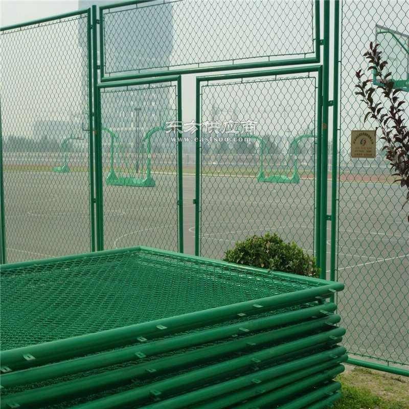 框架护栏网车间护栏网优质 各种颜色喷塑浸塑护栏网 网球场护栏网市政护栏定做加工图片