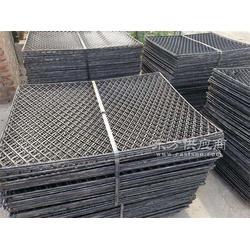 镀锌钢板网 菱形孔脚踏网钢板防眩网厂家定做现货 盾构走道板菱形脚踏网图片