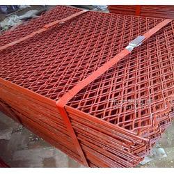 冲孔脚踏网现货规格 包片菱形钢笆片河北厂家供应 重型防护钢板网图片