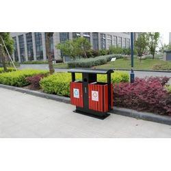 钢木垃圾桶单桶,绿享环卫(在线咨询),阿拉善盟钢木垃圾桶图片