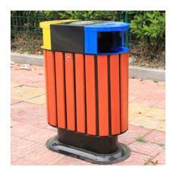 海林户外垃圾桶、绿享环卫、木质户外垃圾桶图片
