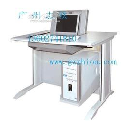 供应志欧钢木结合翻转桌显示屏隐藏桌翻转电脑桌图片