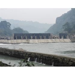 贵州翻板坝-江汇翻板闸门大工程-钢制翻板坝工程
