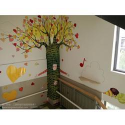 苏州市金阊区龙门墙体彩绘工作室(图)|背景墙手绘|手绘图片