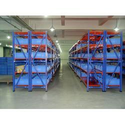 供应仓储中型货架|无锡德安金属制品(在线咨询)|威海中型货架图片