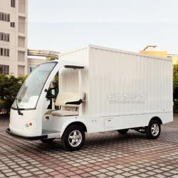 电动载货车复合材料箱体图片