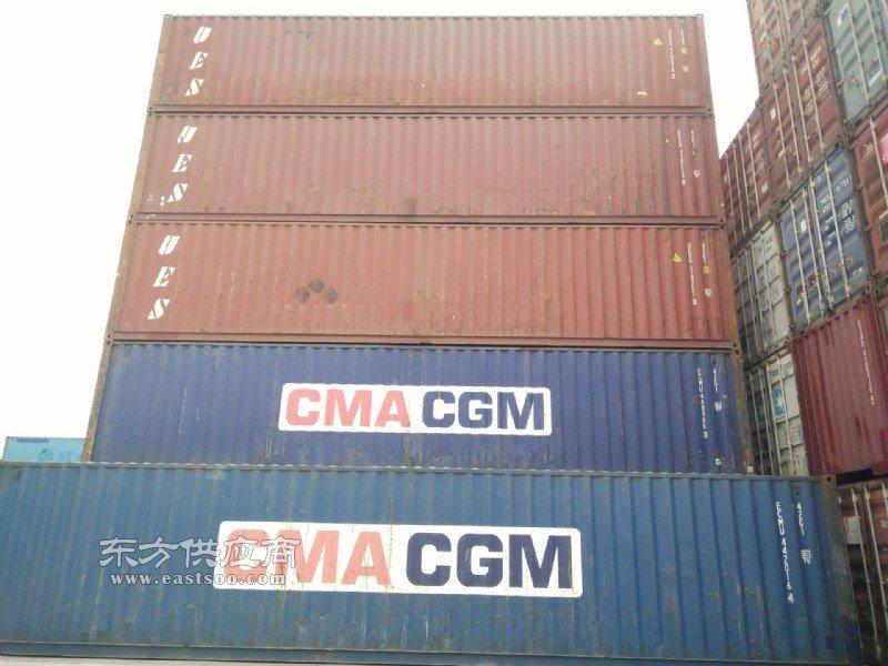 塘沽港二手集装箱 海运集装箱 货柜 箱房改造等图片