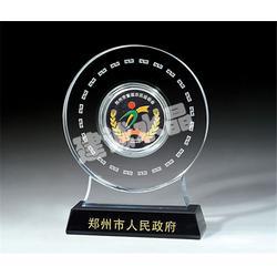 水晶奖牌、建诚水晶客户至上、水晶奖牌制作厂家图片