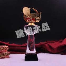 水晶奖杯奖牌,水晶奖杯,建诚水晶胜在细节图片