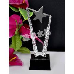 (建诚水晶)设计精美,金属水晶奖杯,水晶奖杯图片