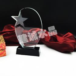 建诚水晶坚持高品质 生产水晶奖杯厂家-水晶奖杯图片