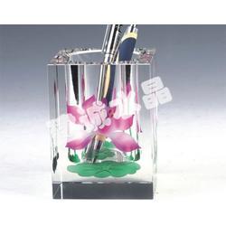 水晶办公用品,【建诚水晶】设计精美,水晶办公用品图片