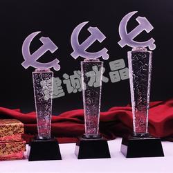 水晶奖杯|建诚水晶(优质商家)|创意水晶奖杯图片