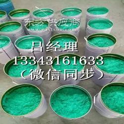 电厂脱硫胶泥-烟道乙烯基防腐胶泥施工图片