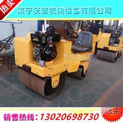 小型压路机,双轮压路机 手扶式双钢轮压路机图片