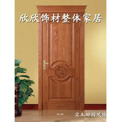 实木复合套装门,欣欣饰材,太原室内实木复合套装门定制图片