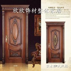 山西实木免漆门,欣欣饰材(在线咨询),山西实木免漆门图片