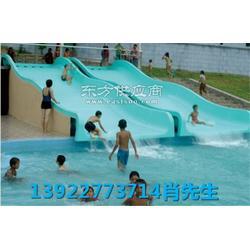 水上游艺设施 2.5米超宽家庭滑道供应找梦航玩具厂家图片